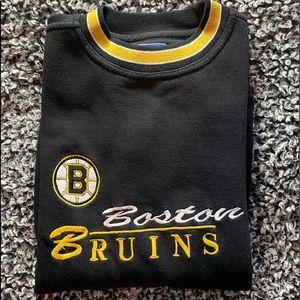 Logo Authetic Boston Bruins sweatshirt